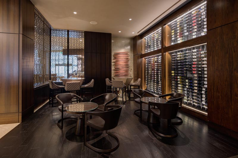 Cueva bar in the Downtown Houston Marriott Marquis