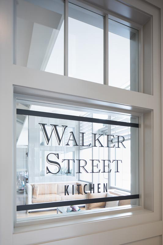 Walker Street in the Downtown Houston Marriott Marquis