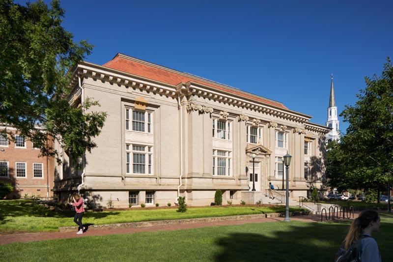 UNC Hill Hall exterior