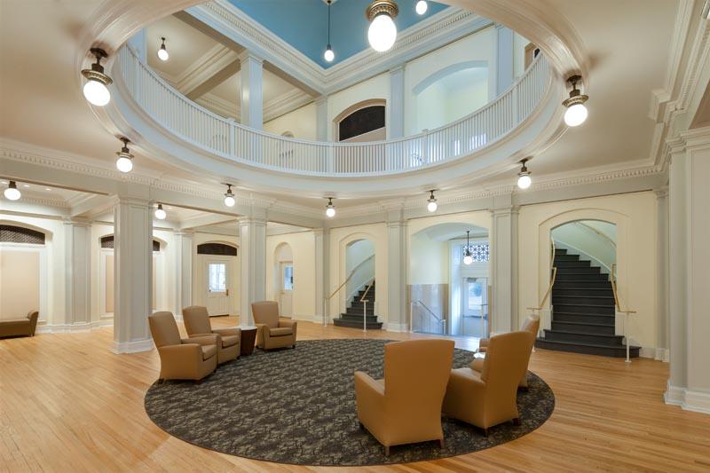 UNC Hill Hall Rotunda ground floor