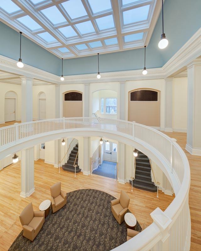 UNC Hill Hall Rotunda from second floor