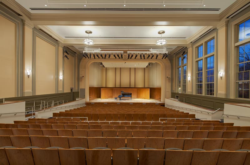 UNC Hill Hall auditorium