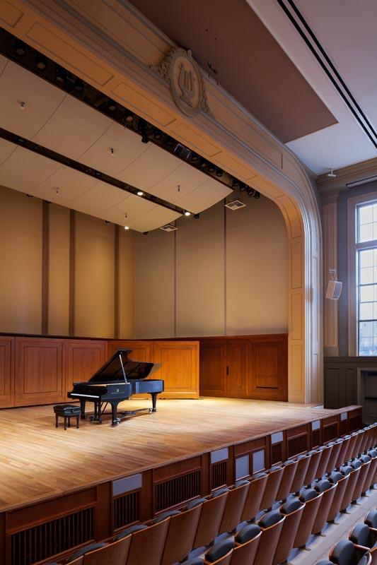 UNC Hill Hall auditorium