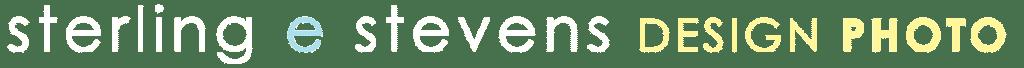 Sterling stevens white horizontal logo